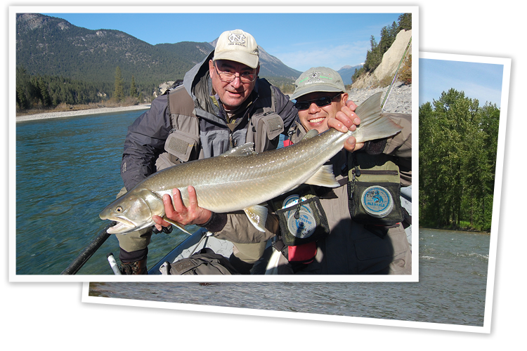 guided fly fishing trip